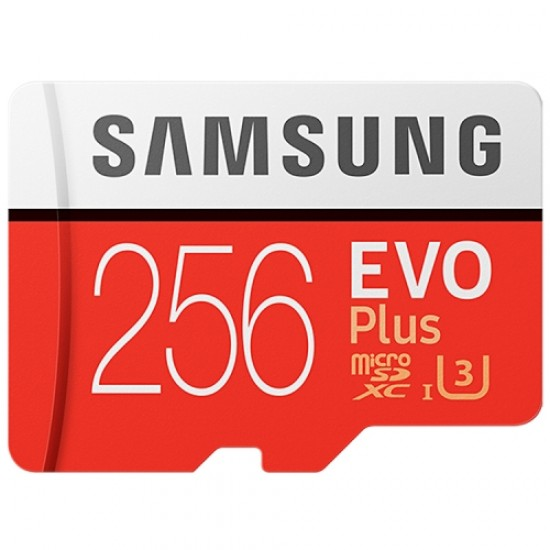 Samsung EVO Plus 256GB Micro SD Memory Card